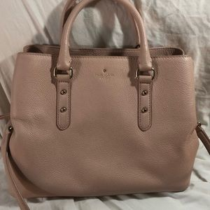Brand new blush Kate Spade satchel